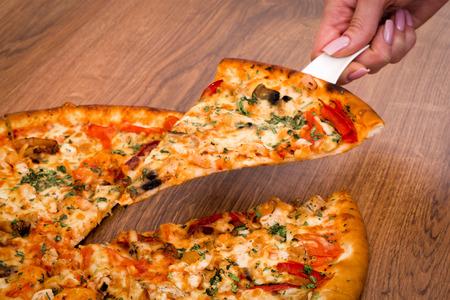 Pizza Zdjęcie Seryjne