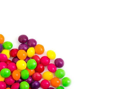Candy isolated on white background