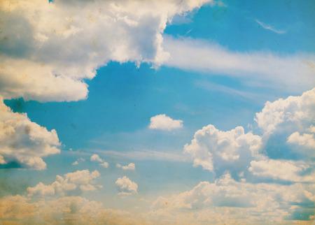 nuages ??comme millésime fond de ciel