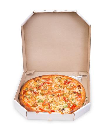 supreme: Supreme Pizza Stock Photo