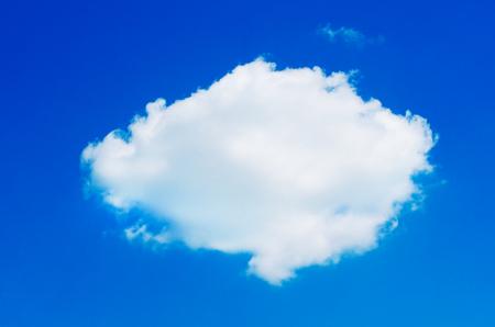 sky blue: Clouds in blue sky