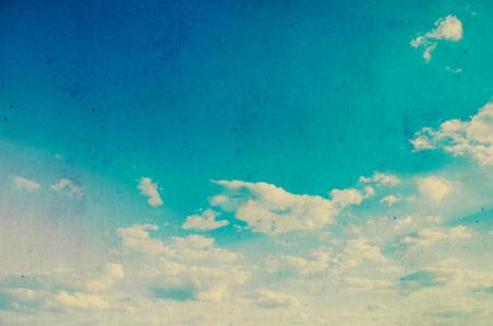 grunge image: Grunge image of sky background.