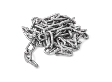 private club: chain isolated on white background