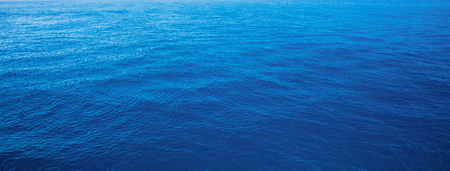 deep blue: blue water sea for background Stock Photo