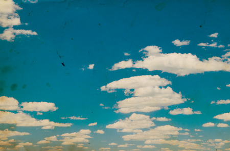 nimbi: white fluffy clouds in the blue sky