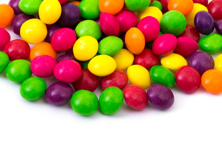 sweet color candy Stock Photo