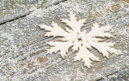 Christmas background with snowflakes 版權商用圖片
