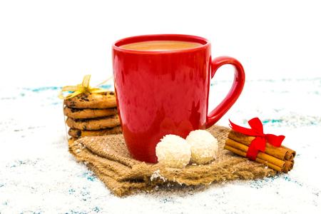 Christmas festive background Standard-Bild