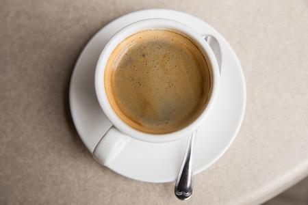 cip: A cip of coffee in a coffee shop
