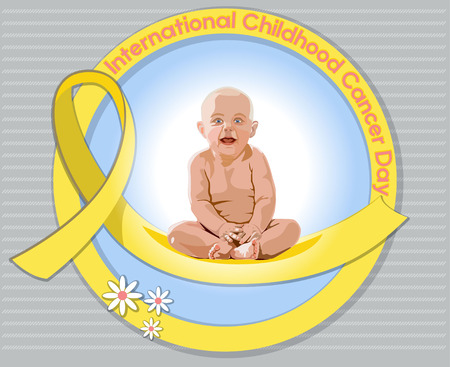 International Childhood Cancer Day Illustration