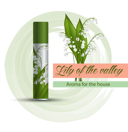 Air freshener with a lily smell