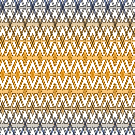 Abstract oriental seamless pattern. Ethnic pattern. Abstract Vector Background. Ethnic background. Arabic architecture inspired backdrop.Grid background.Geometric background.Regular Texture. Banco de Imagens