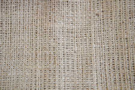 Natural textured burlap sackcloth hessian texture coffee sack, canvas background photo