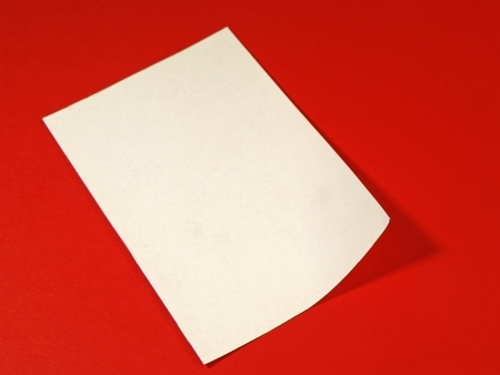 Sheet of paper Stock Photo - 19717492