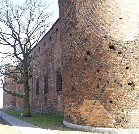 teutonic: Medieval Teutonic castello in Polonia