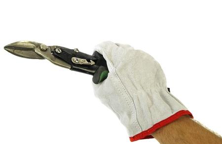 snip:  Tin snip in hand