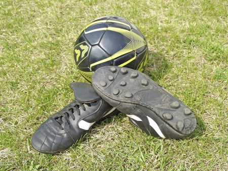 soccer shoes: Soccer shoes Stock Photo