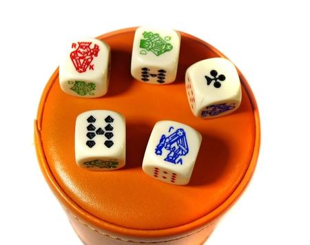 ivories:  Playing poker  Playing poker      Stock Photo