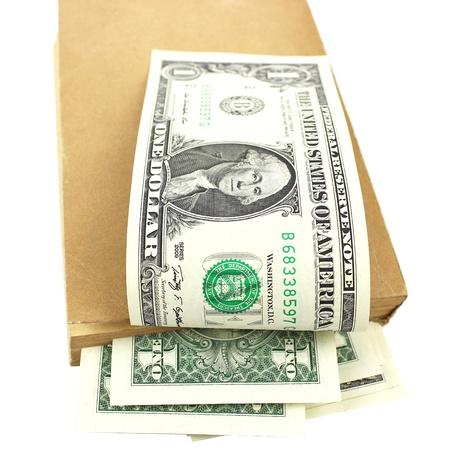 concealment: Dollars in book