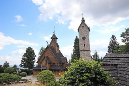 wang: Norwegian temple Wang in Karpacz, Poland