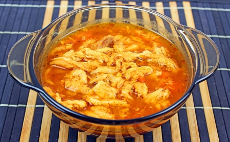 Traditional tripe soup 版權商用圖片