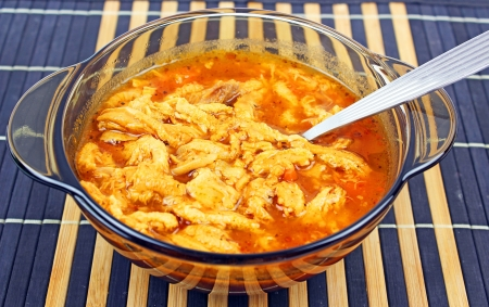 Traditional tripe soup  photo