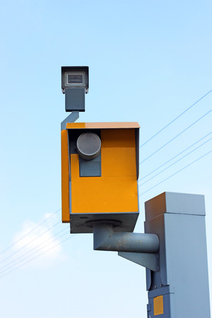 the camera a traffic speed photo