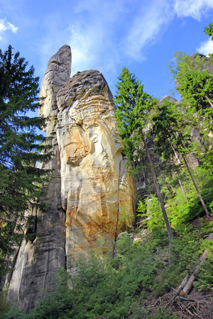 central europe: Rock City - Czech Republic, Central Europe Stock Photo