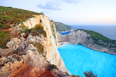 Navagio Beach (Shipwreck) on Zakynthos Island, Greece
