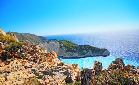 zakynthos: Zakynthos island in Greece Stock Photo