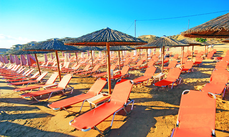 zakynthos: Banana Beach. The island of Zakynthos. Greece. Stock Photo