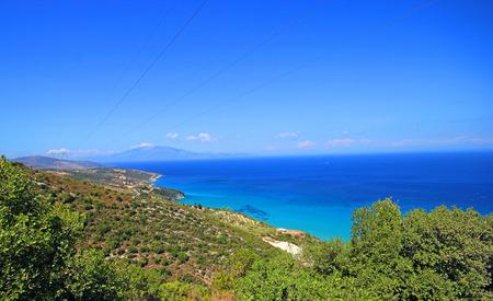 turquise: Turquise water of the bay on Zakynthos island, Greece