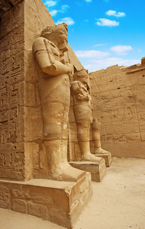 thebes: Anscient Temple of Karnak - Ruined Thebes Egypt