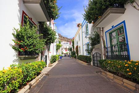the little venice: Puerto de Mogan, a beautiful town on Gran Canaria. spain