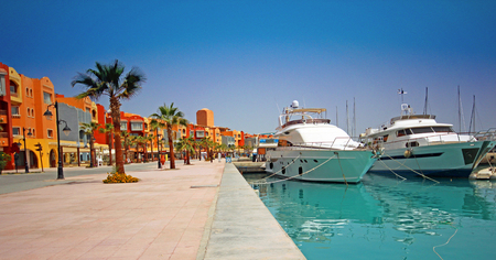 Marina, Hurghada, Egypt.