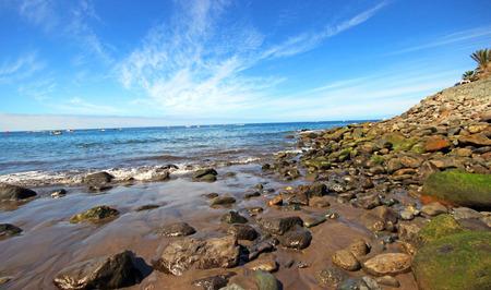coastline: Coastline of Gran Canaria, Spain