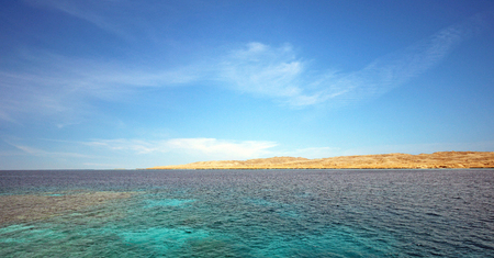 sinay: Red sea. egypt