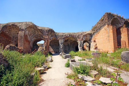 Capua in Italy, the roman amphitheater
