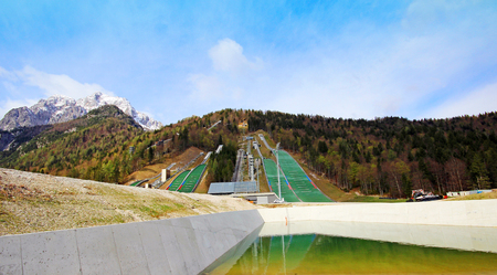 Planica - Slovenia Stock Photo