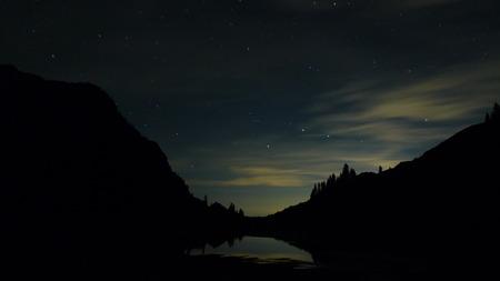 lake view at night Stock fotó - 97554877