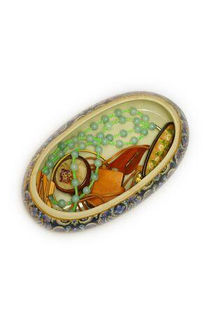 The original porcelain jewel box.
