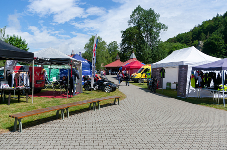 Preventative safety events for motorcyclists. Date of 10. 6. 2017 venue township Sloup, South Moravia, Czech Republic. Participated in this event traffic police, firefighters and paramedics. It includes tutorials, samples and techniques.