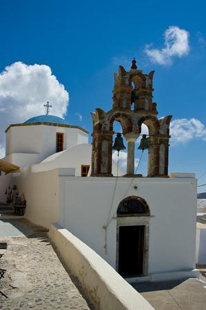 Orthodox Church in Pyrgos, Santorini Island.
