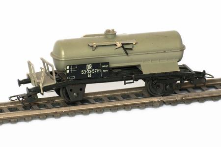 Railway Modeller. Damaged model railroad.