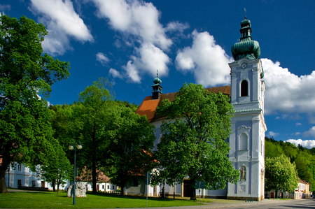 Pilgrimage Church of the Virgin Mary. Stock Photo - 112518878