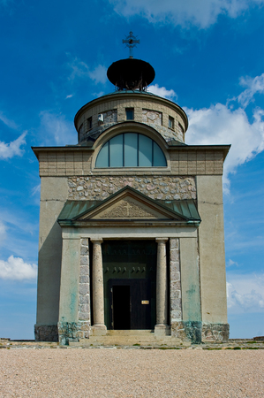 Elisabethkirche Chapel built in honor of Sisi on a highland mountain in Schneeberg in Lower Austria.