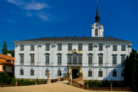 Lysice castle, South Moravia, Czech Republic.