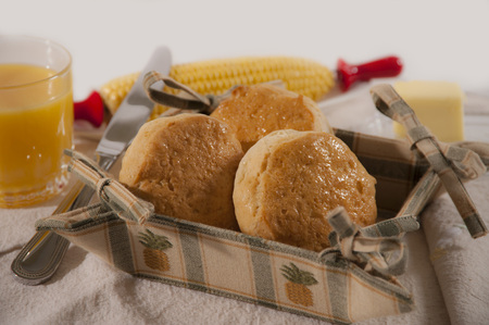 Biscuit Basket is a basket of freshly baked biscuits, yummy, ready to eat with some butter. Commercial use.