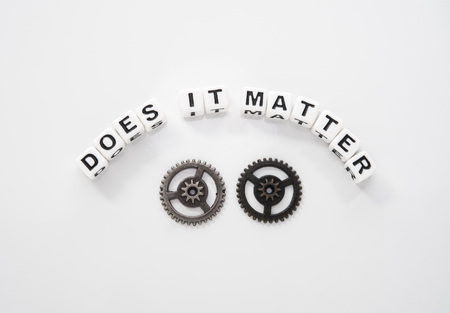 Different Gears is a metaphor to depict there is no difference in the color or ethnicity of a person . Commercial use.