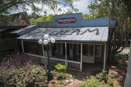 Warm Springs, Georgia, June 11, 2017,  Bullochville News established in 1897 in Warm Springs, Georgia Redakční